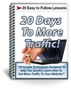 Thumbnail 20 Days to More Traffic Autoresponder Messages PLR
