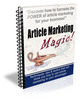 Thumbnail Article Marketing Magic PLR Autoresponder Messages