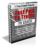 Thumbnail Fast Path To Traffic Lessons PLR Autoresponder Messages
